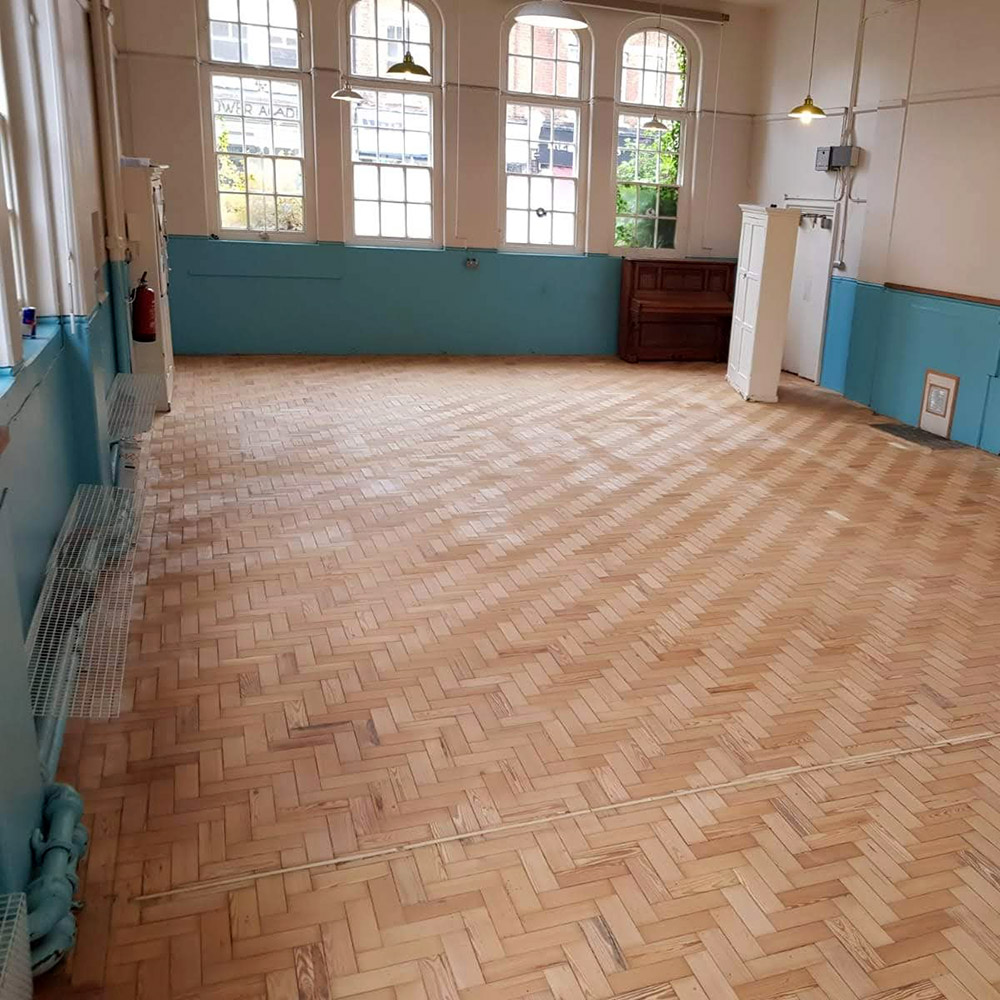 Wood Parquet Floor Restoration in Kew